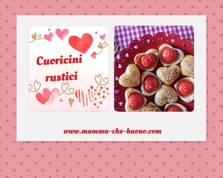 Cuoricini rustici love