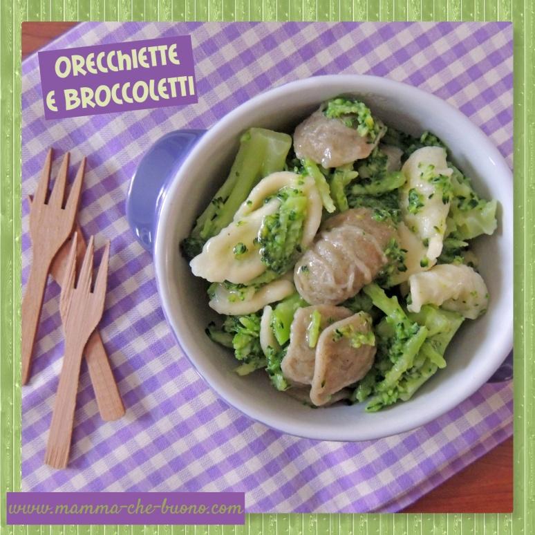 orecchiette e broccoletti ok
