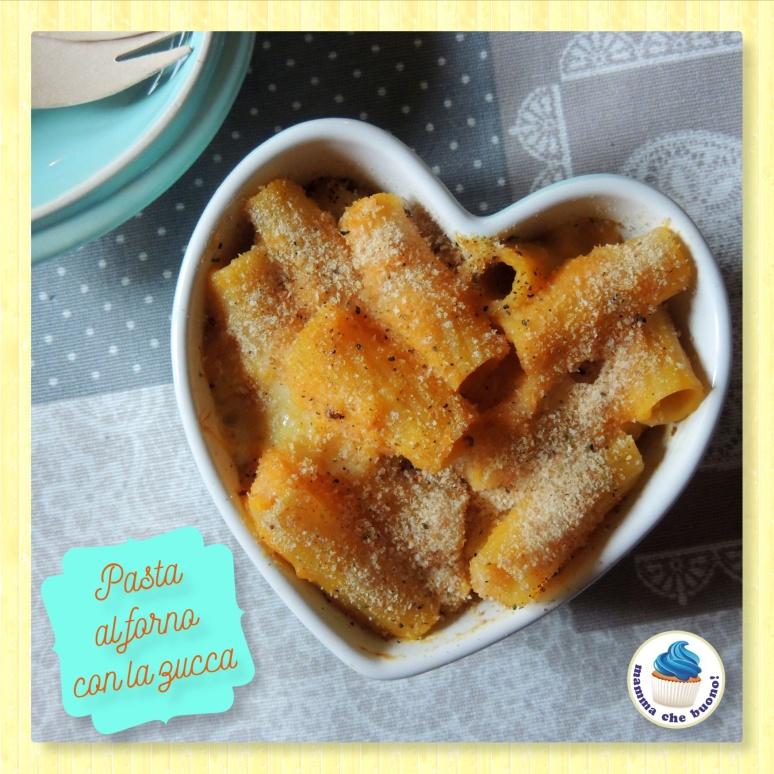 pasta al forno con la zucca2