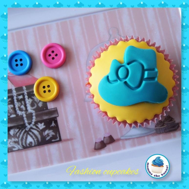 fashion cupcake cappellino