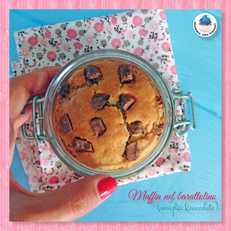 muffin nel barattolino