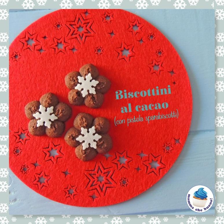 biscottini al cacao cn pistola sparabiscotti
