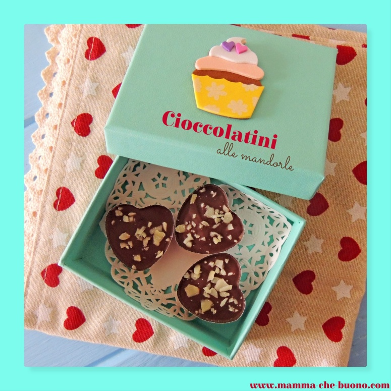 cioccolatini scatolina