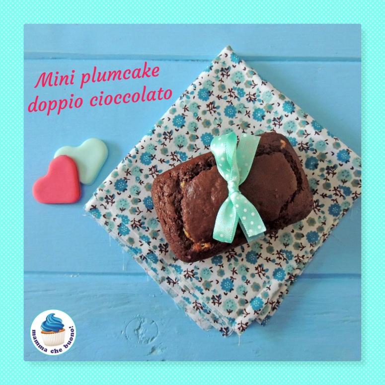 mini plumcke doppio cioccolato