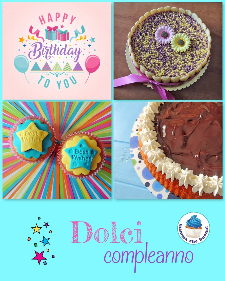 dolci compleanno 2018