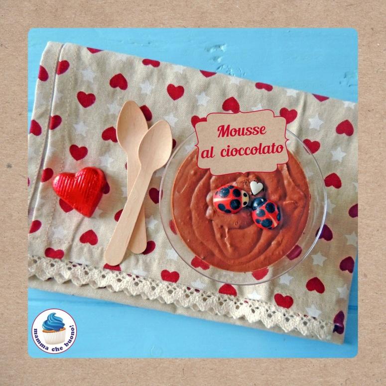 mousse al cioccolato panna