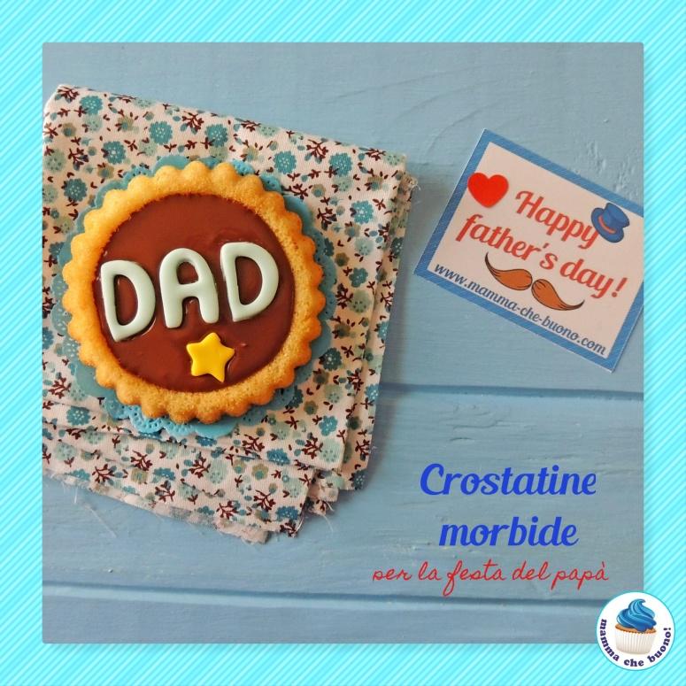 crostatine morbide per la festa del papà nutella