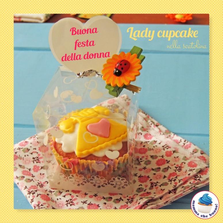 lady cupcake nella scatolina