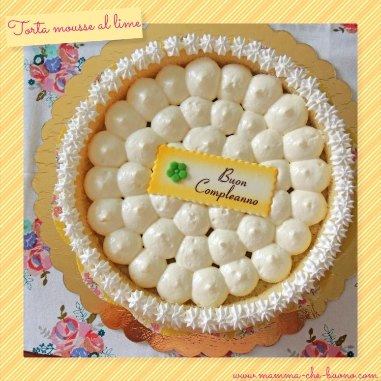 torta mousse al lime