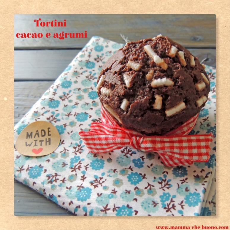 tortini cacao e agrumi