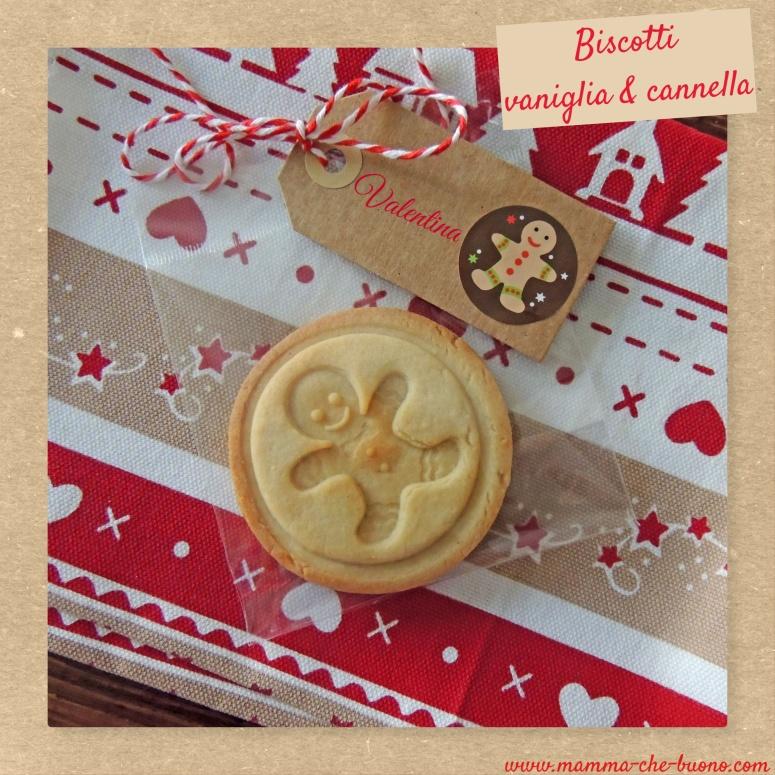 biscotti vaniglia e cannella segnaposto