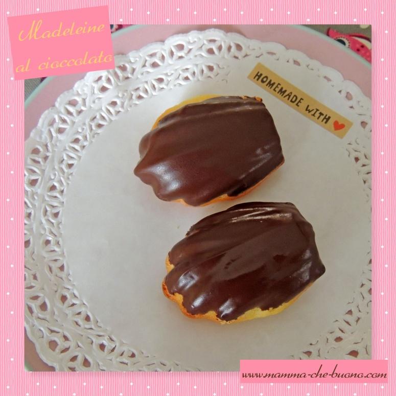 madeleine al cioccolato