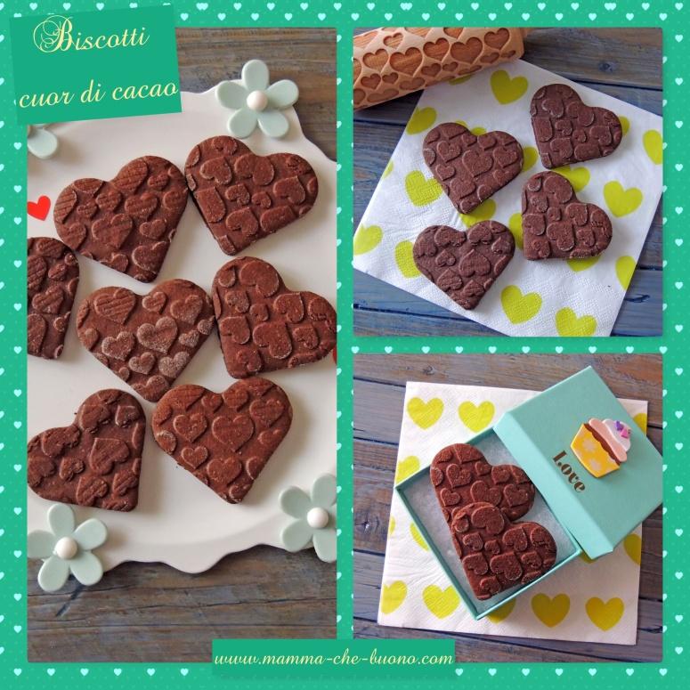 biscotti cuor di cacao