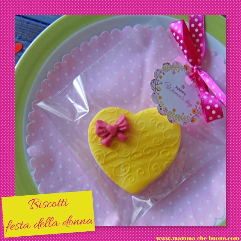biscotti festa della donna confezione