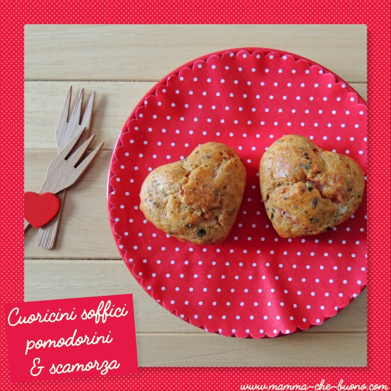 cuoricini soffici pomodorini e scamorza2