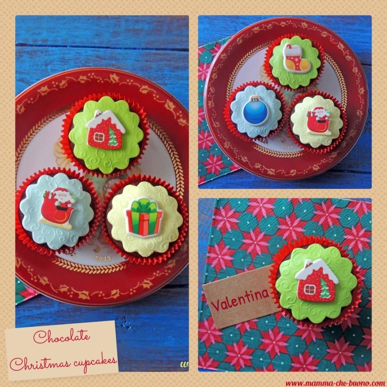 chocolate christmas cupcakes 3
