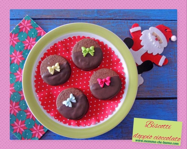 biscotti doppio cioccolato