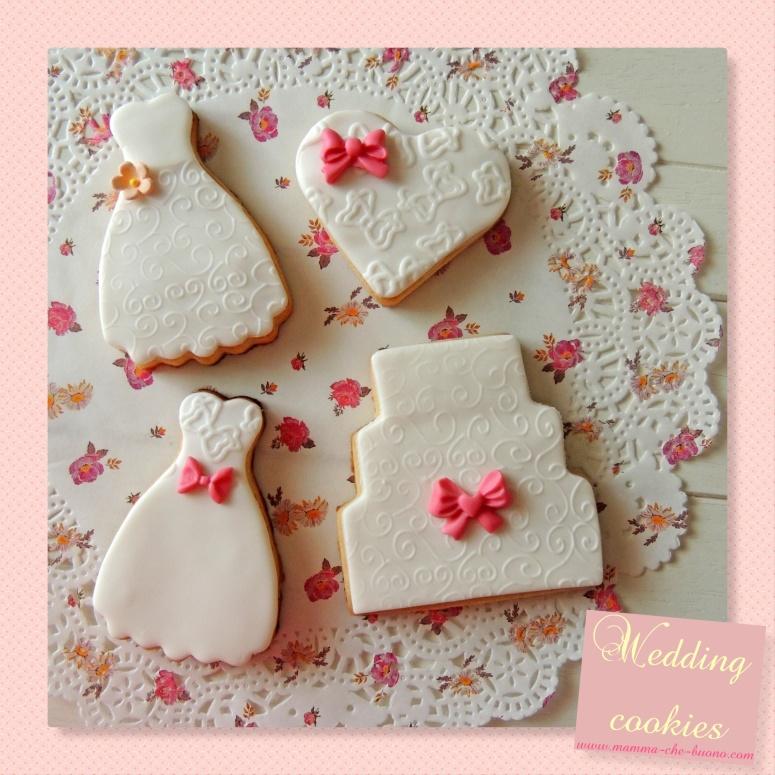 wedding cookies abiti