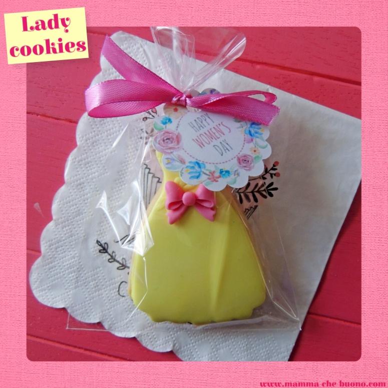 lady cookies confezionato
