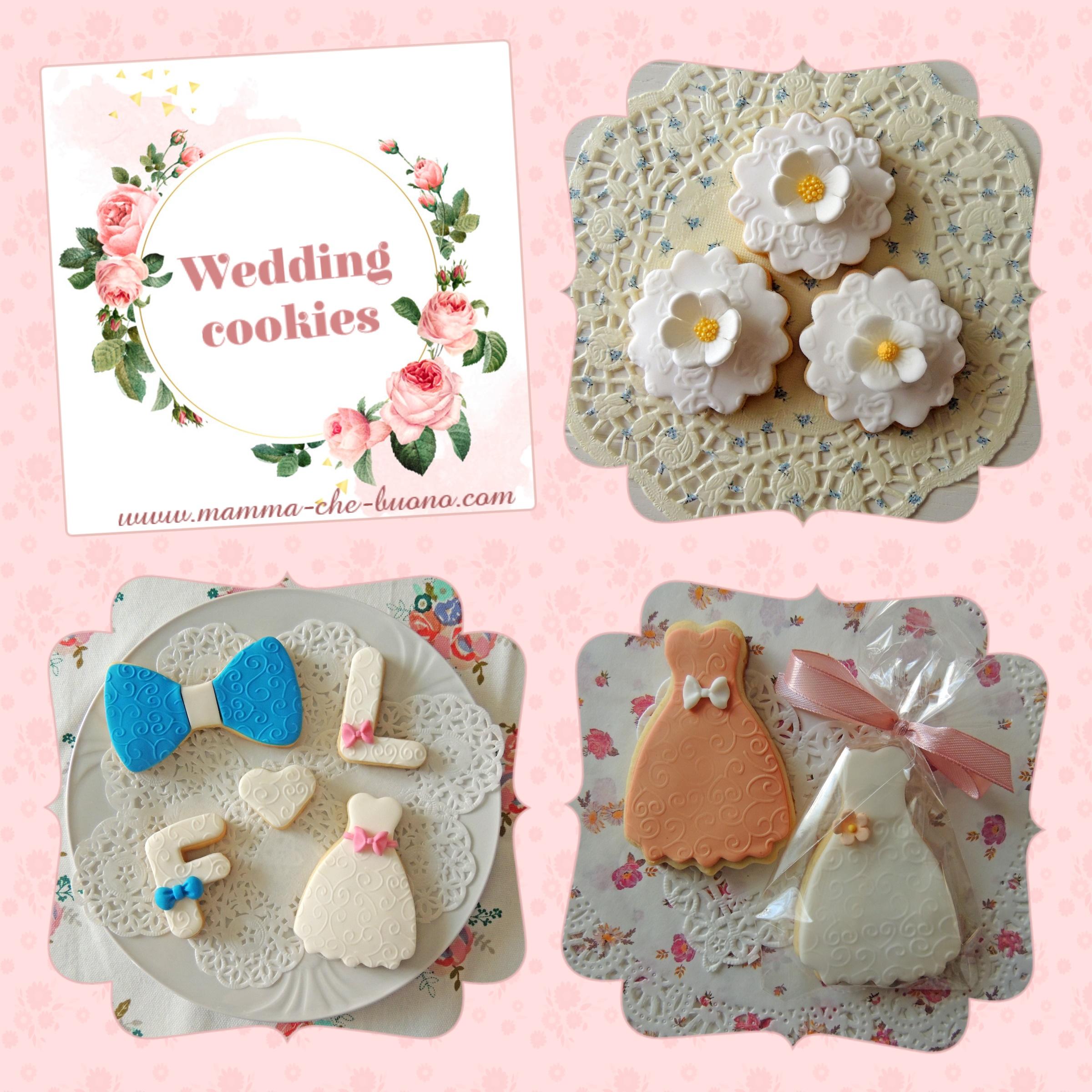 wedding cookies vari1